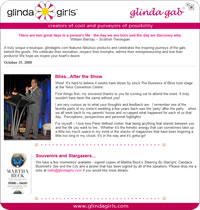 Glinda Girls email template