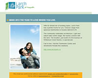 Larch Park email template