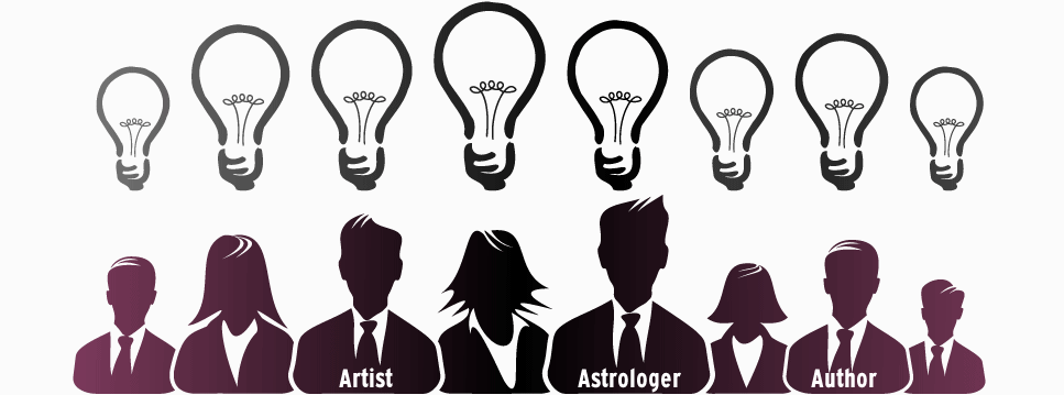 Blog Topic Ideas: Artist, Astrologist, Author
